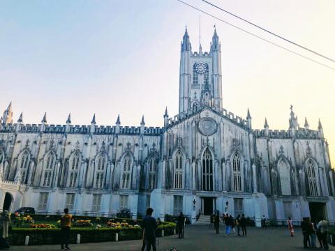 セント・ポール寺院 コルカタ インド