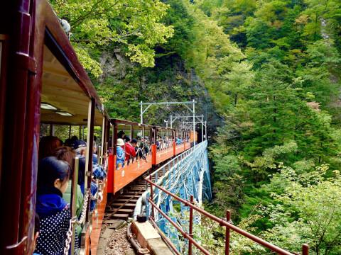 日本 絶景 富山 黒部峡谷鉄道