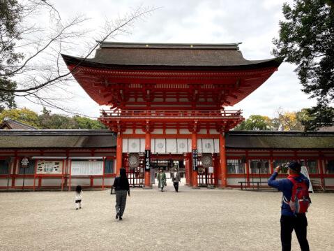 下賀茂神社(下鴨神社)