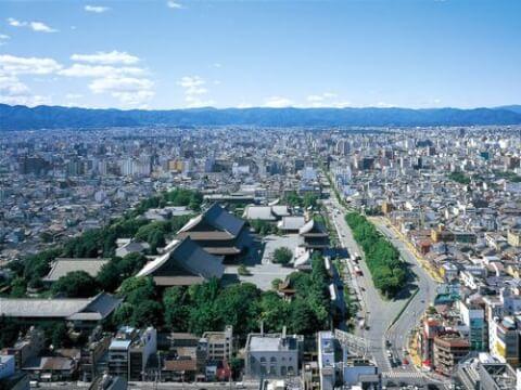 京都タワーホテル景色