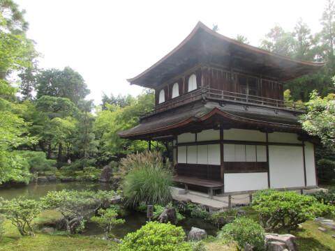 銀閣寺 縁側