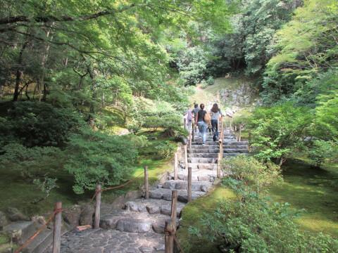 銀閣寺 展望台
