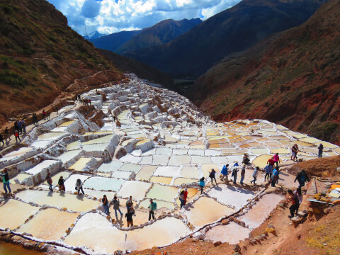ペルー 観光 マラス塩田 maras
