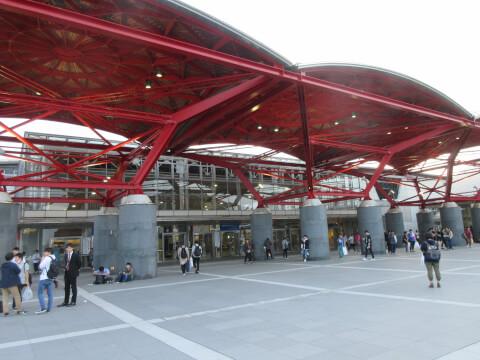 赤い屋根 中央プラザ