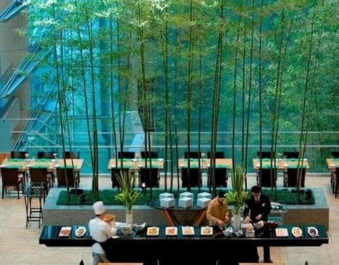 マンダリン東京 レストラン