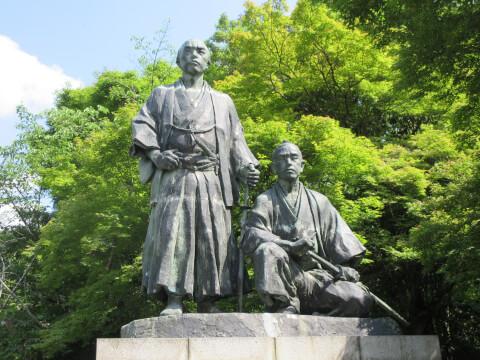 円山公園 坂本龍馬