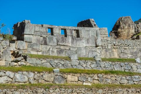 マチュピチュ観光、3つの窓の神殿
