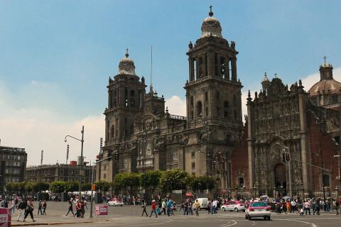 メキシコシティ メキシコ ソカロ広場 Plaza de la Zocalo