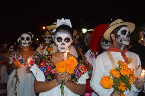 メキシコシティ 死者の日