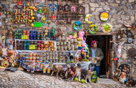 メキシコ お土産 民芸品 メキシコシティ