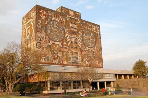 メキシコ メキシコシティ メキシコ自治国立大学 UNAM