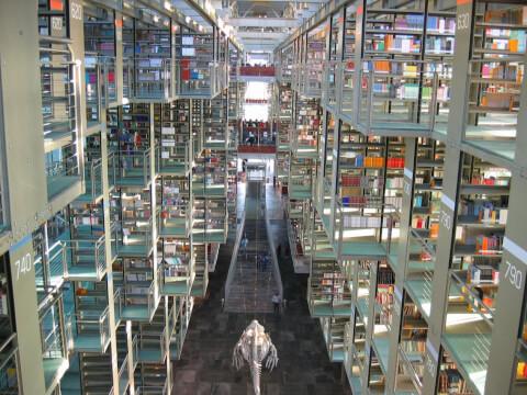 メキシコ メキシコシティ バスコンセロス図書館