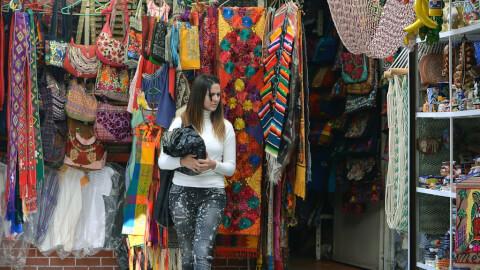 メキシコ メキシコシティ シウダデラ民芸品市場