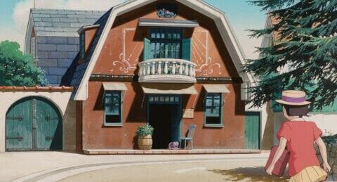 耳をすませば 聖蹟桜ヶ丘 ジブリ 桜ヶ丘ロータリー 地球屋