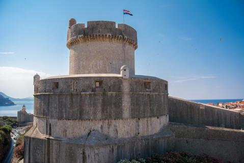 mincheta ドブロブニク クロアチア 観光 ミンチェタ要塞
