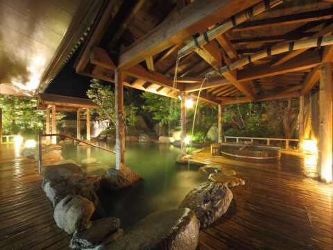 三朝温泉 庭の湯