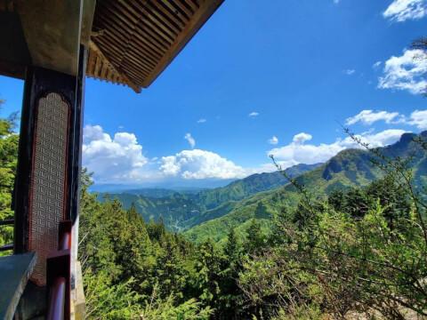三峯神社からの眺望