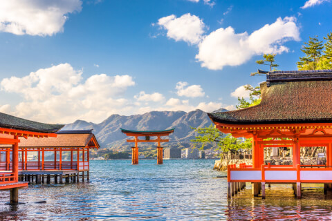 宮島のおすすめ観光スポット、厳島神社