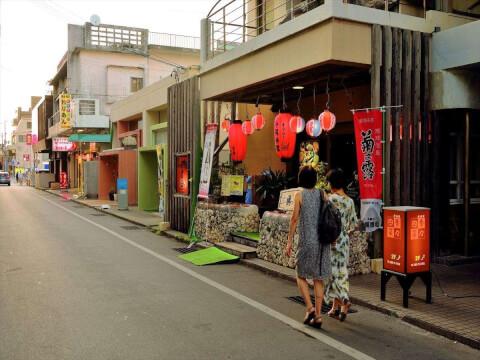 宮古島の商店街