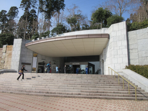 MOA美術館の入り口