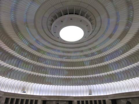 MOA美術館の「円形ホール」の万華鏡