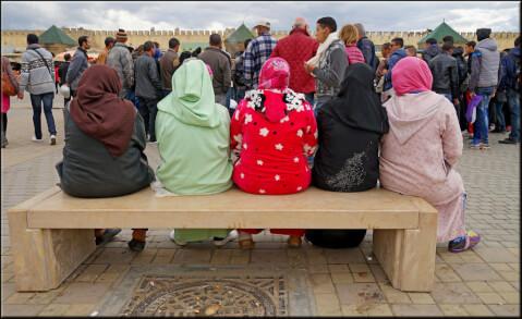 モロッコの女性たち