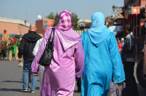 モロッコの旅行におすすめの服装