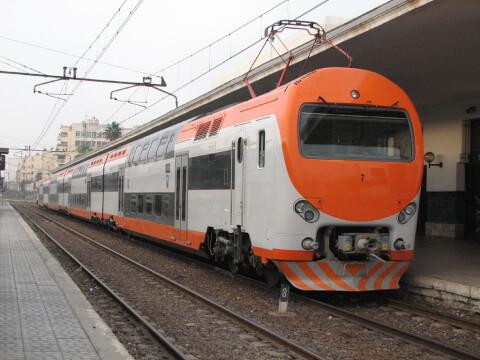 モロッコ鉄道の旅