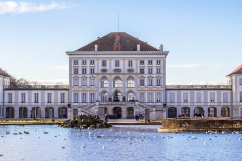 ドイツ、ミュンヘンのおすすめ観光スポット、ニンフェンブルク城