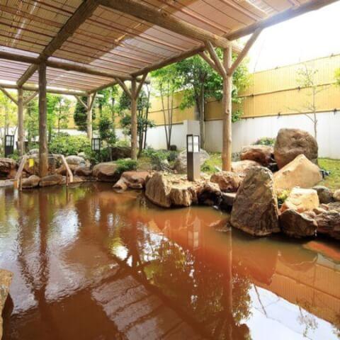 ホテル&リゾーツ長浜露天風呂