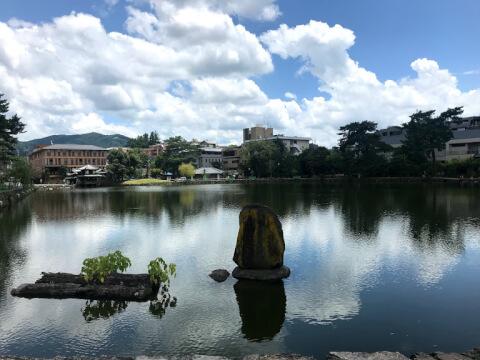 奈良公園の周辺のスポット