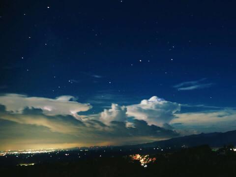 那須高原の夜景
