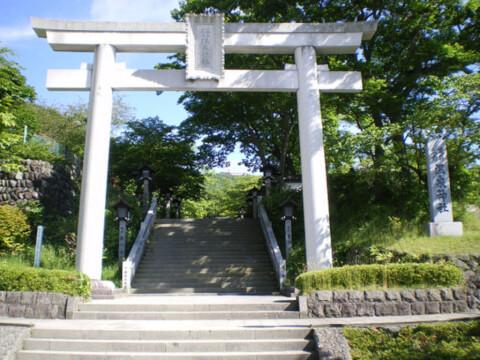 栃木 観光 温泉 グルメ 那須温泉神社