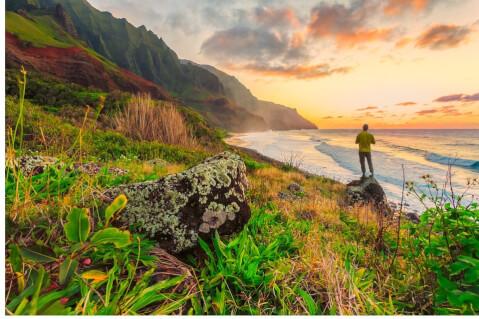 ホノルル ハワイ 自然 絶景