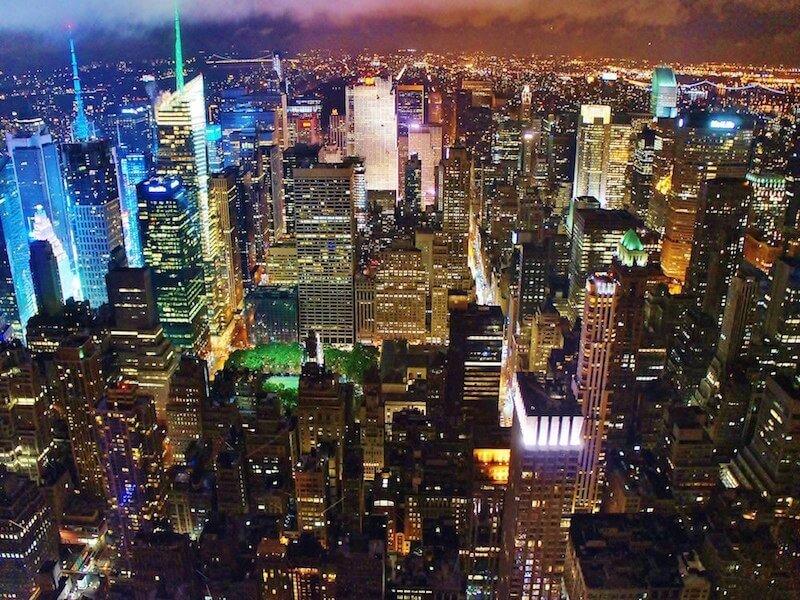 絶景のニューヨーク