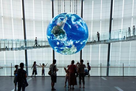東京 プラネタリウム おすすめ スポット 日本科学未来館