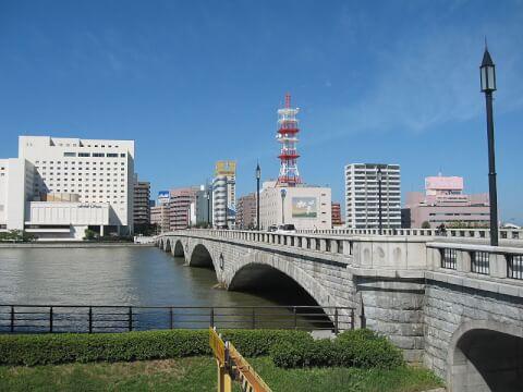萬代橋 新潟