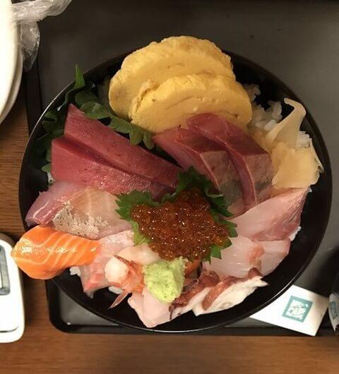 海鮮丼 新潟