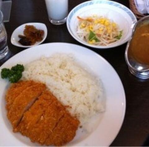 チキンカツカレー 横須賀海軍カレー