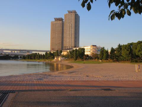 お台場海浜公園 景色