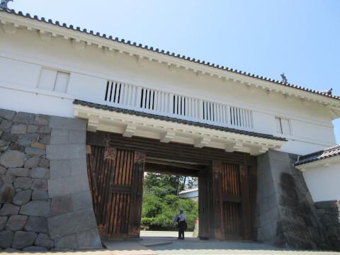 銅門 小田原城
