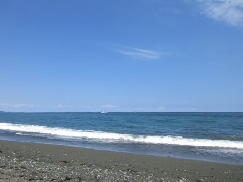 御幸の浜 小田原城
