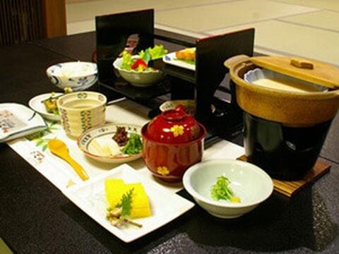 京都 旅館 宿泊 北海館 お花坊 お食事
