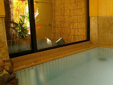 京都 旅館 宿泊 北海館 お花坊 お風呂