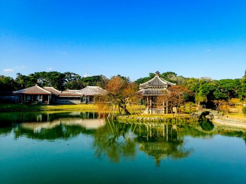 沖縄のおすすめ観光地、識名園