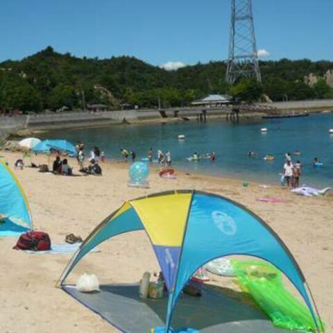 大久野島-海水浴場