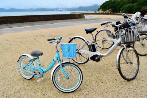 大久野島-レンタルサイクル