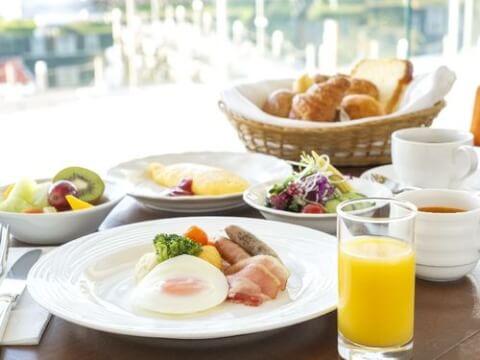 ホテルオークラ朝食