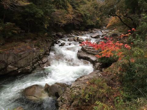 奥津渓 渓谷