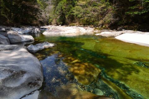 面河渓 川